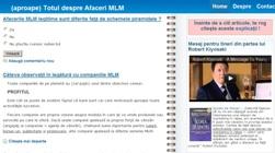 www.AfaceriMLM.info - (aproape) Totul despre Afaceri MLM