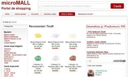 microMALL - Portal de shopping