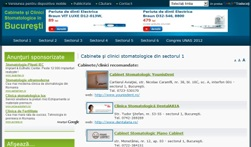 Portalul Cabinetelor/Clinicilor stomatologice din Bucureşti